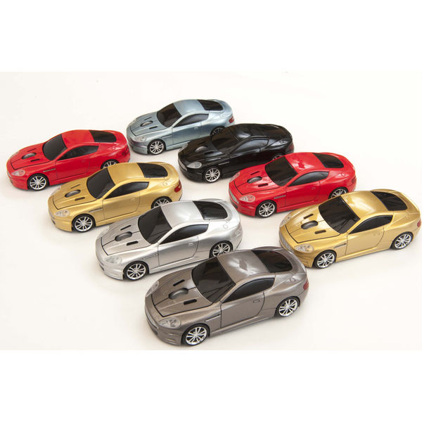 Promotional Aston Martin Racing Car Wireless Mouse
